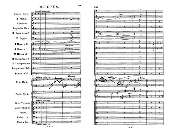 フランツ・リスト 交響詩『オルフェウス』