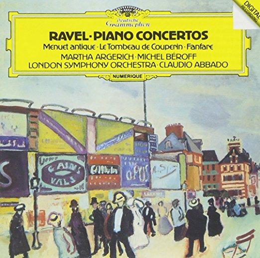 ラヴェル『ピアノ協奏曲』(マルタ・アルゲリッチ、クラウディオ・アバド)