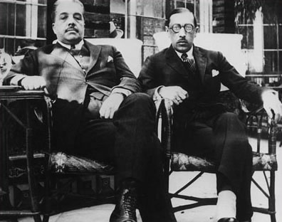 ディアギレフとストラヴィンスキー