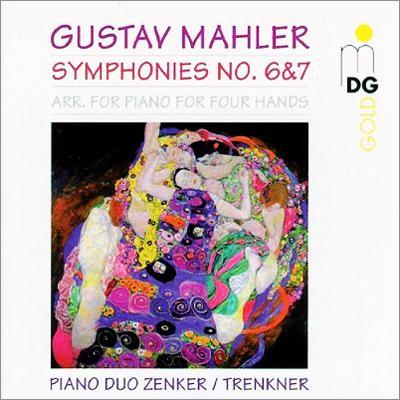 グスタフ・マーラー:交響曲第6番『悲劇的』、交響曲第7番『夜の歌』|ツェンカー&トレンクナー(ピアノデュオ)